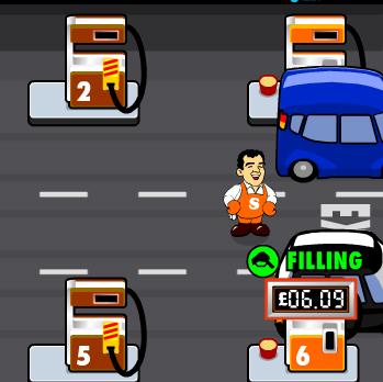 بازی پمپ بنزین